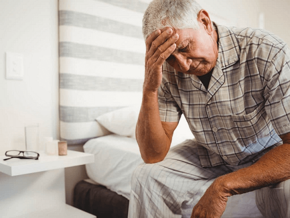 dementia and poor sleep